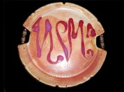 Wall Art/Hanging plate with beads