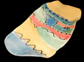 Colorful Ceramic Serving Platter