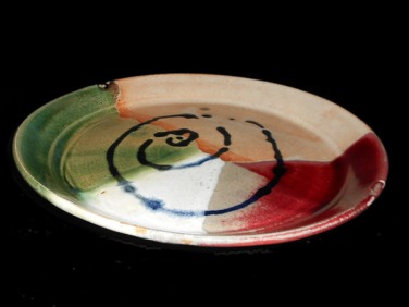 Multicolored Plate