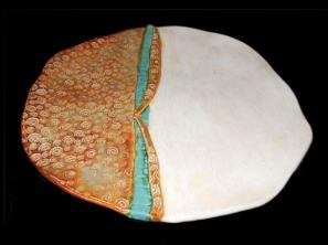 large ceramic platter