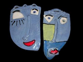 Hanging Face Masks