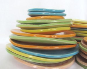 colorful plates 2