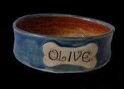 personalized pet bowl