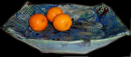 TEXTURED.BLUE.BOWL